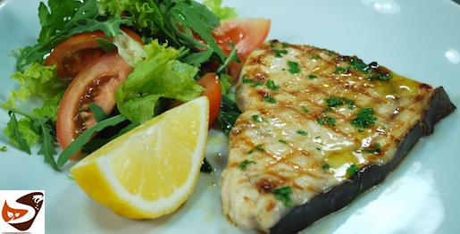 Pesce spada arrostito: alla griglia, alla piastra, in padella