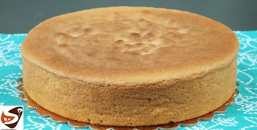 Pan di spagna alto e soffice: ricetta classica e con il bimby, senza lievito