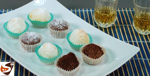 Dolci al cocco: biscotti al cocco, morbidi, dolci, al cioccolato