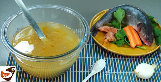 Fumetto di pesce: brodo di pesce per risotto e cous cous