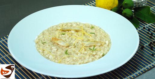 Risotto con branzino e limone: ricetta sfiziosa e delicata