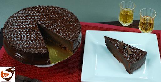 Torta al cioccolato: morbida, fondente e senza glutine