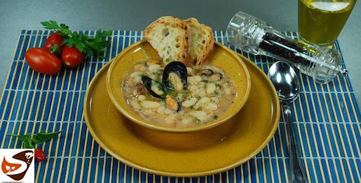 Zuppa di cozze e fagioli: ricetta semplice e sfiziosa