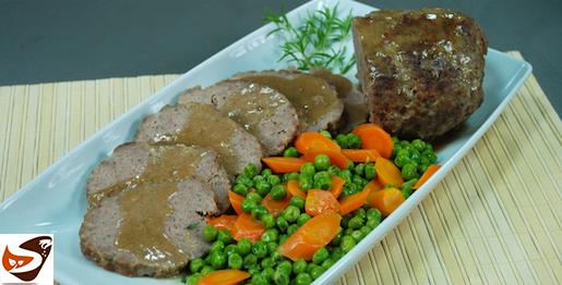 Polpettone al forno: con carne e verdure