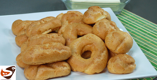 Pasta choux: per bignè, eclair, corone, zeppole