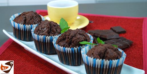 Muffin al cioccolato : ricetta facile e veloce