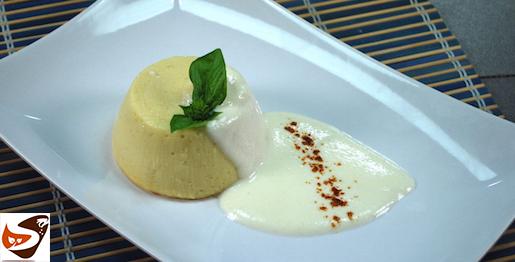 Sformato di patate: con fonduta al formaggio