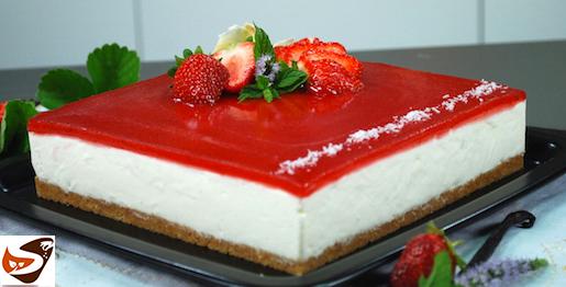 Cheesecake fredda: dolce facile, senza cottura
