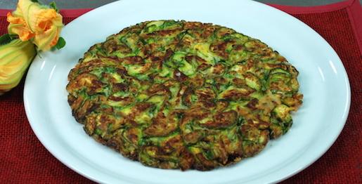 Frittata di zucchine, ricetta senza uova