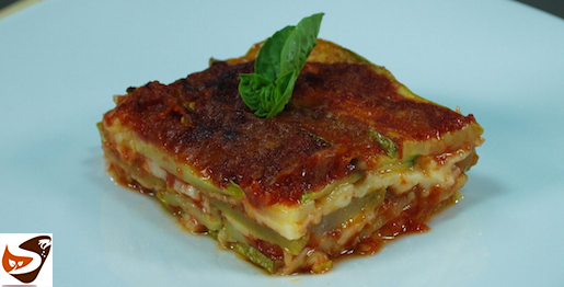 Parmigiana di zucchine: senza friggere le zucchine