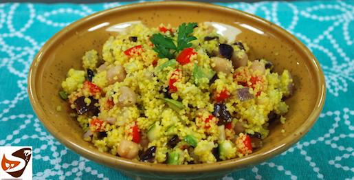 Cous cous con verdure, velocissimo e buonissimo! Ricette vegetariane