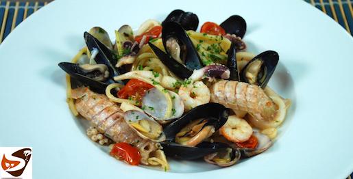 Spaghetti allo scoglio, con frutti di mare e crostacei – Ricette primi piatti