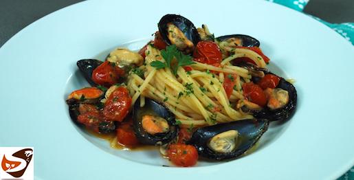 Spaghetti con le cozze, ricetta velocissima e buonissima! – Primi di pesce