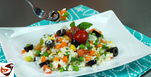 Insalata di riso vegana, semplice e veloce ! – Ricette estive