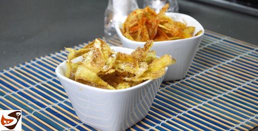 Bucce di patate fritte, snack semplice e sfizioso – Aperitivo veloce