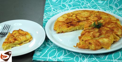 Frittata di patate croccante e senza uova – Antipasti sfiziosi e semplici (tortino di patate)