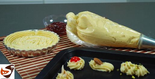 Pasta frolla montata, per biscotti e crostate friabilissimi, adatta anche per la sparabiscotti – Dolci veloci