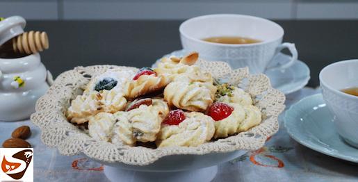 Biscotti di pasta frolla, fatti in casa – Frollini al burro (Dolci veloci)