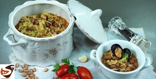 Pasta fagioli e cozze, semplice e buonissima! – Primi piatti di pesce
