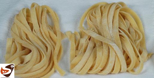 Pasta fatta in casa all'uovo, per tagliatelle, lasagne, tagliolini, maltagliati e fettuccine – Primi piatti