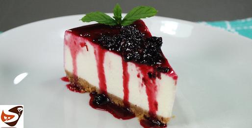 Cheesecake allo yogurt, dolce senza cottura, facile e veloce