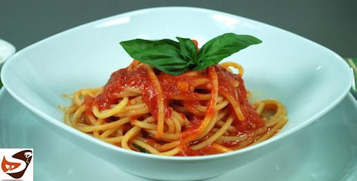 Spaghetti al pomodoro fresco e basilico
