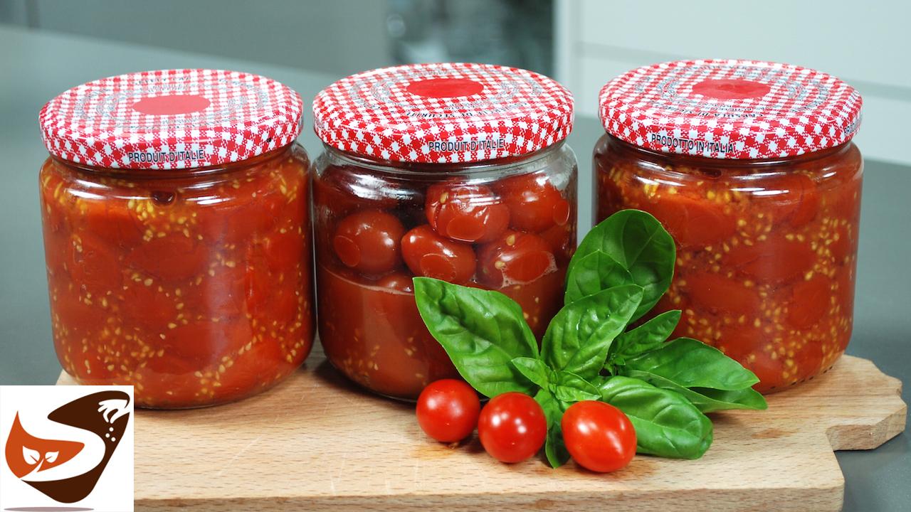 Conserva di pomodoro veloce fatta in casa