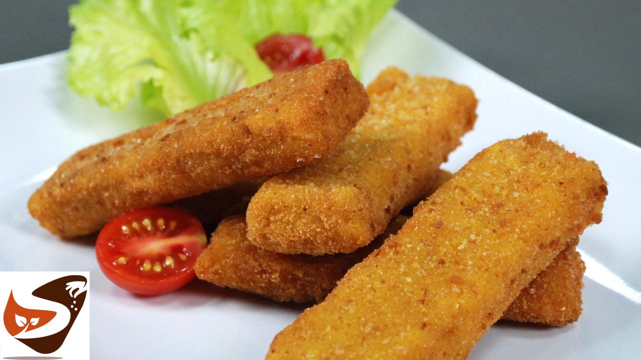 Filetti di Merluzzo golosissimi, preparati come i famosi bastoncini di pesce Findus