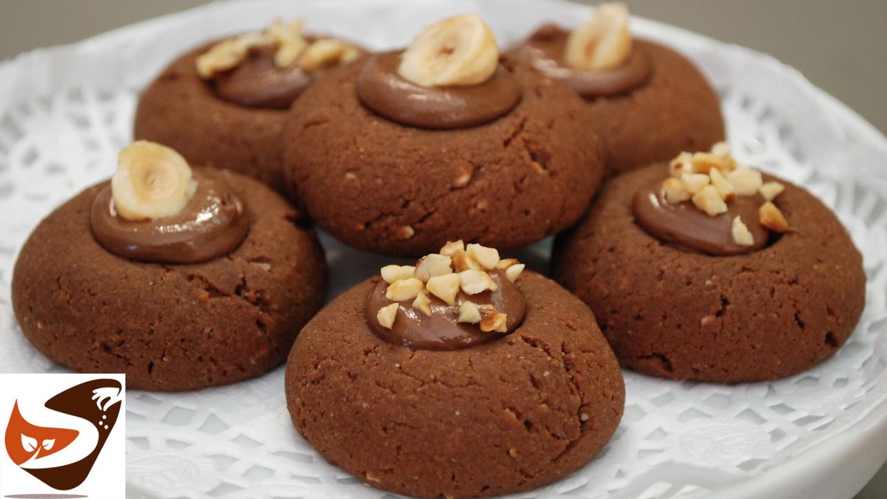 Nutellotti, biscotti alla nutella facilissimi! Homemade cookies
