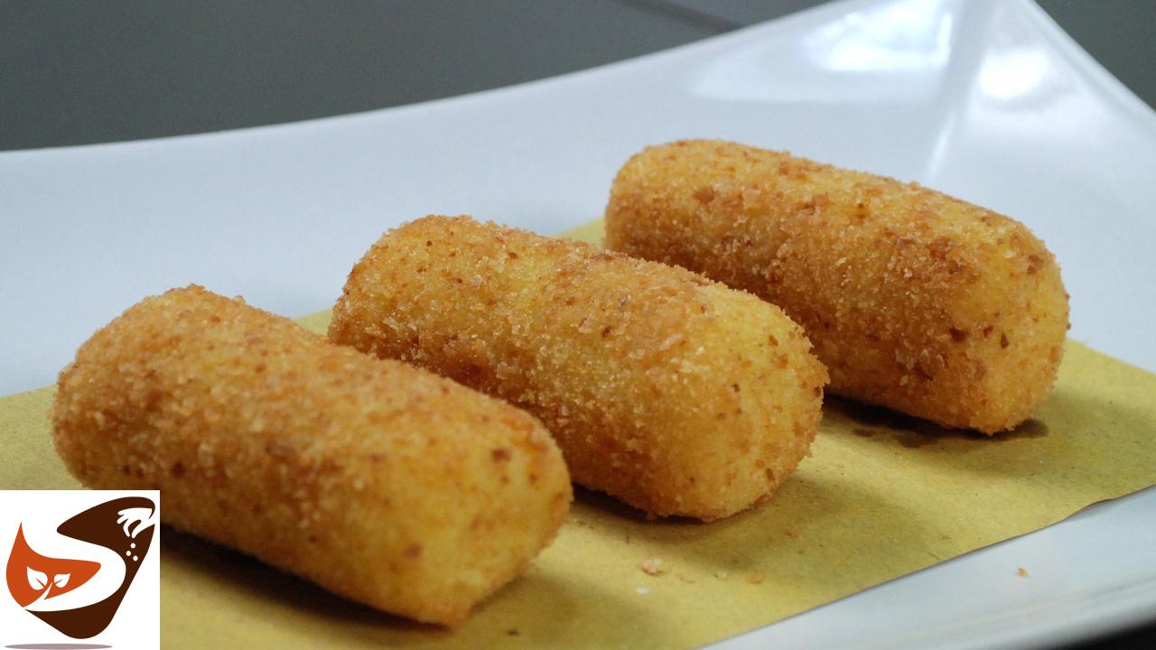 Crocchette di patate  – Al forno e fritte – Perfette!