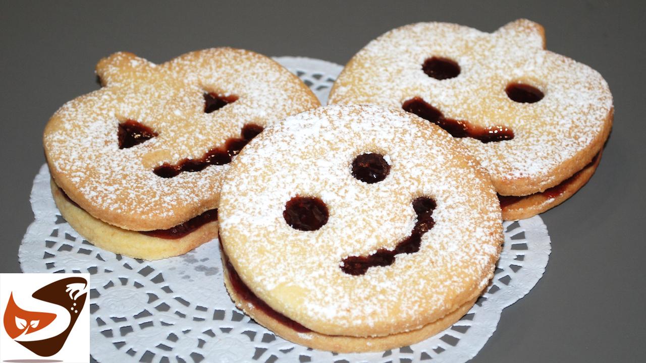 Biscotti di pasta frolla per Halloween – Dolcetti per bambini Facilissimi e buonissimi.