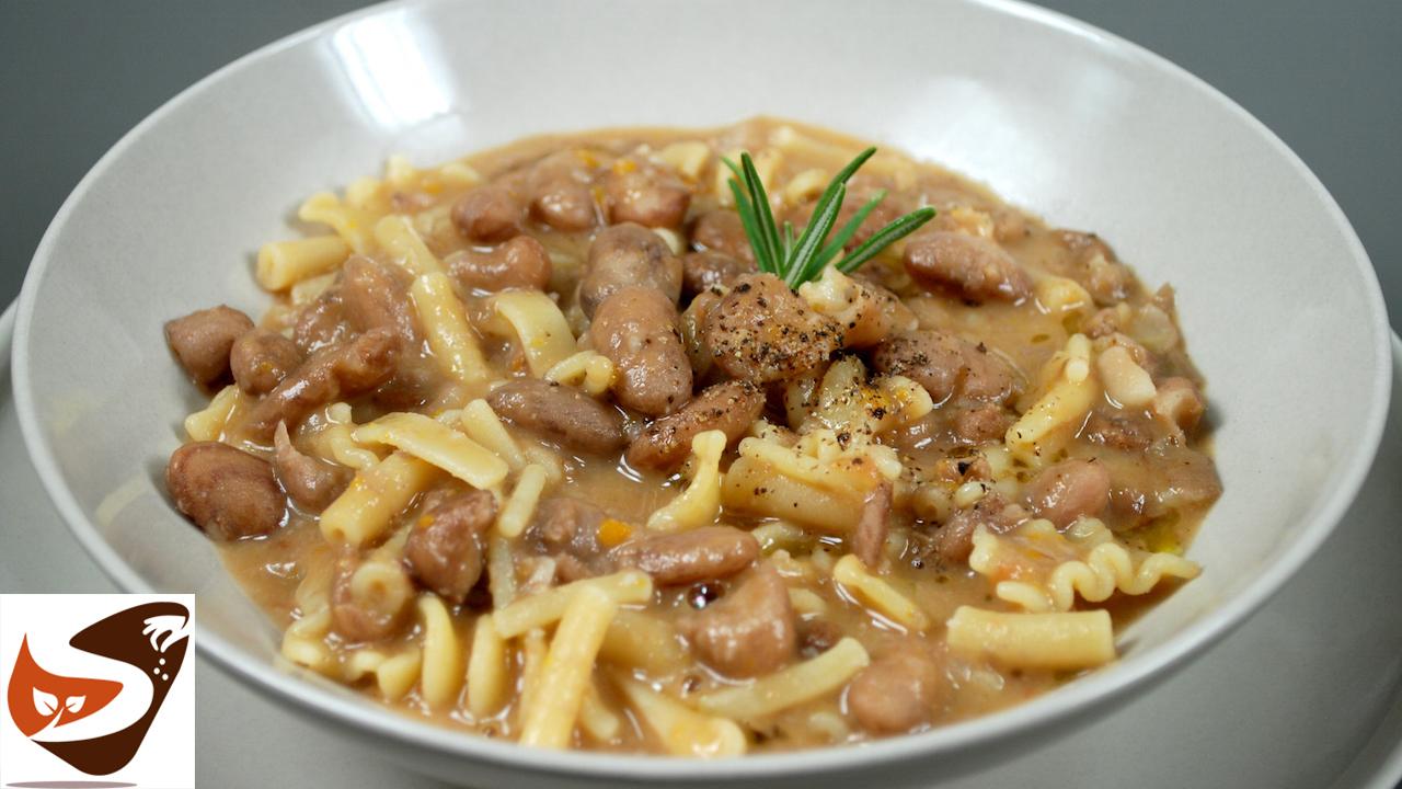 Pasta e fagioli – Ricetta con fagioli freschi o secchi – Primi piatti