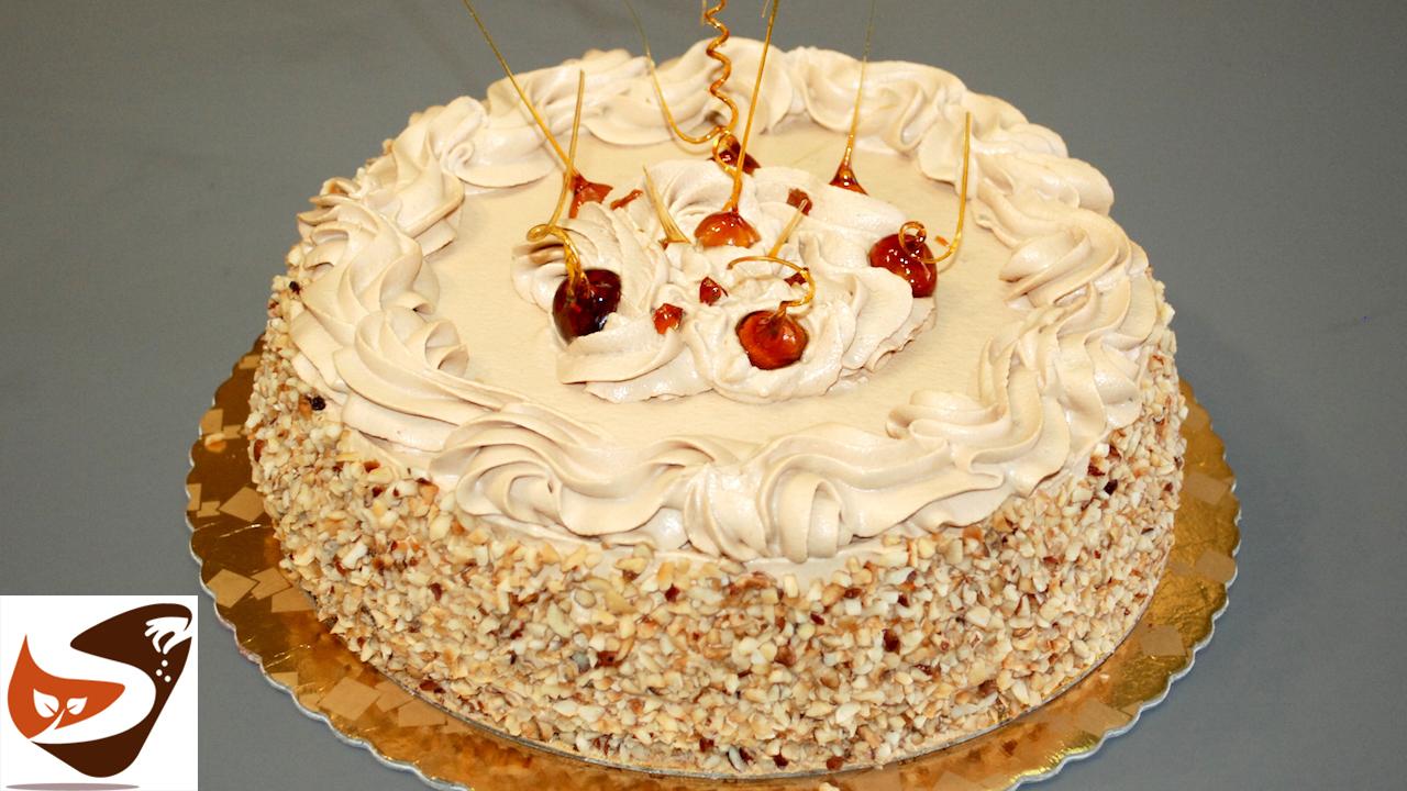 Torta chantilly alla nocciola- Facile e buonissima – Torta di compleanno