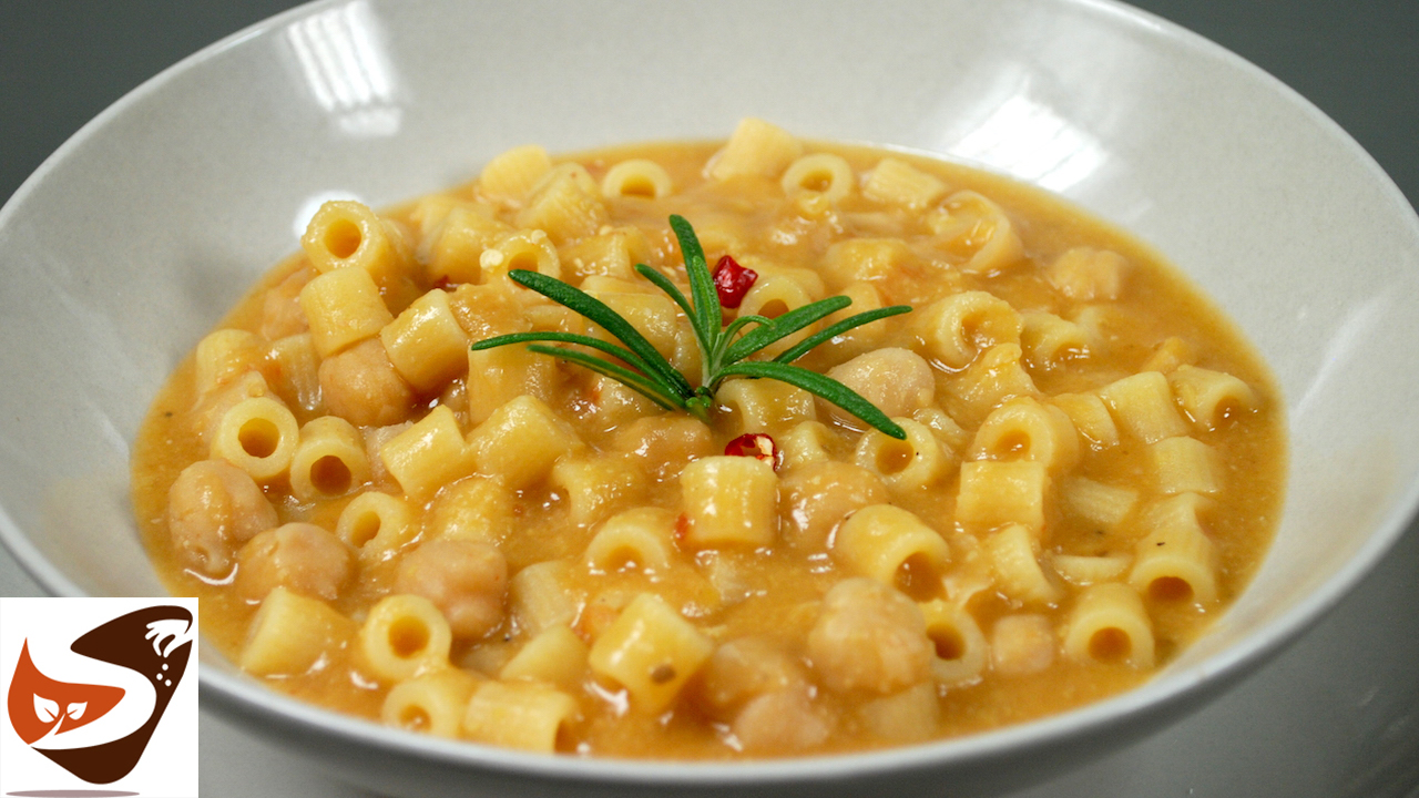 Pasta e ceci, facile, gustosa e salutare – Primi piatti