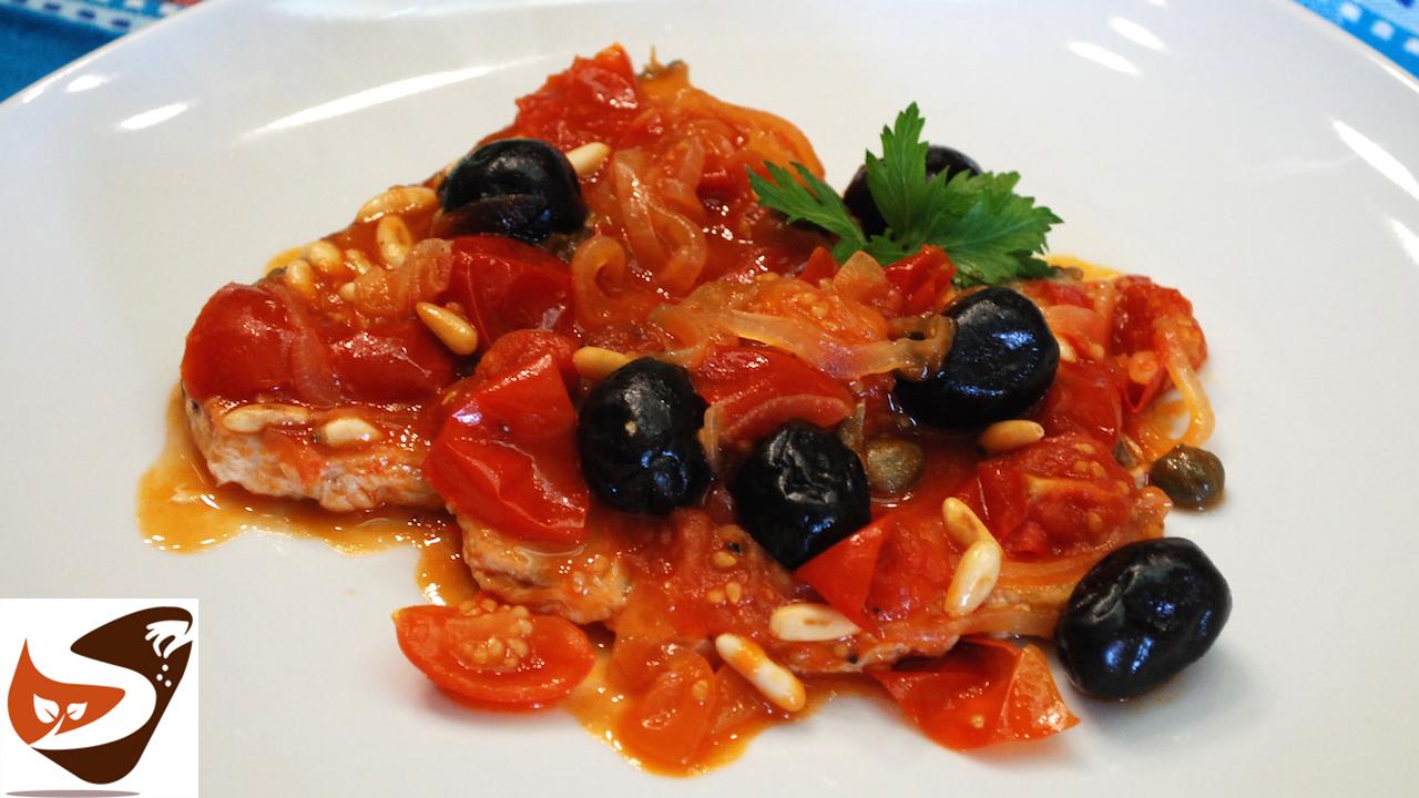 Pesce spada al forno e in padella alla siciliana