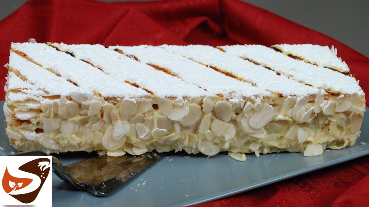 Millefoglie con crema Chantilly – Torta semplice,   friabile e golosa – Dolci facili