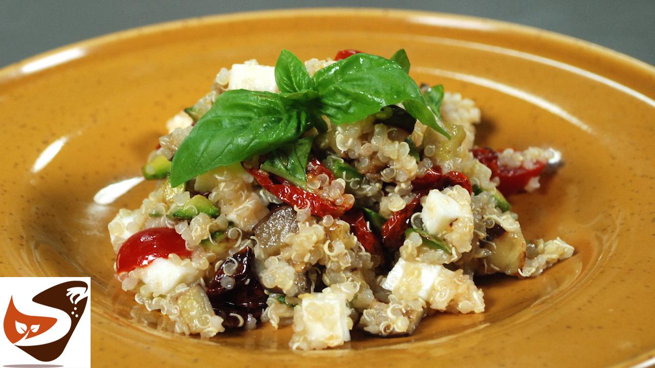 Quinoa con verdure – Insalata fresca e leggera – Primi piatti
