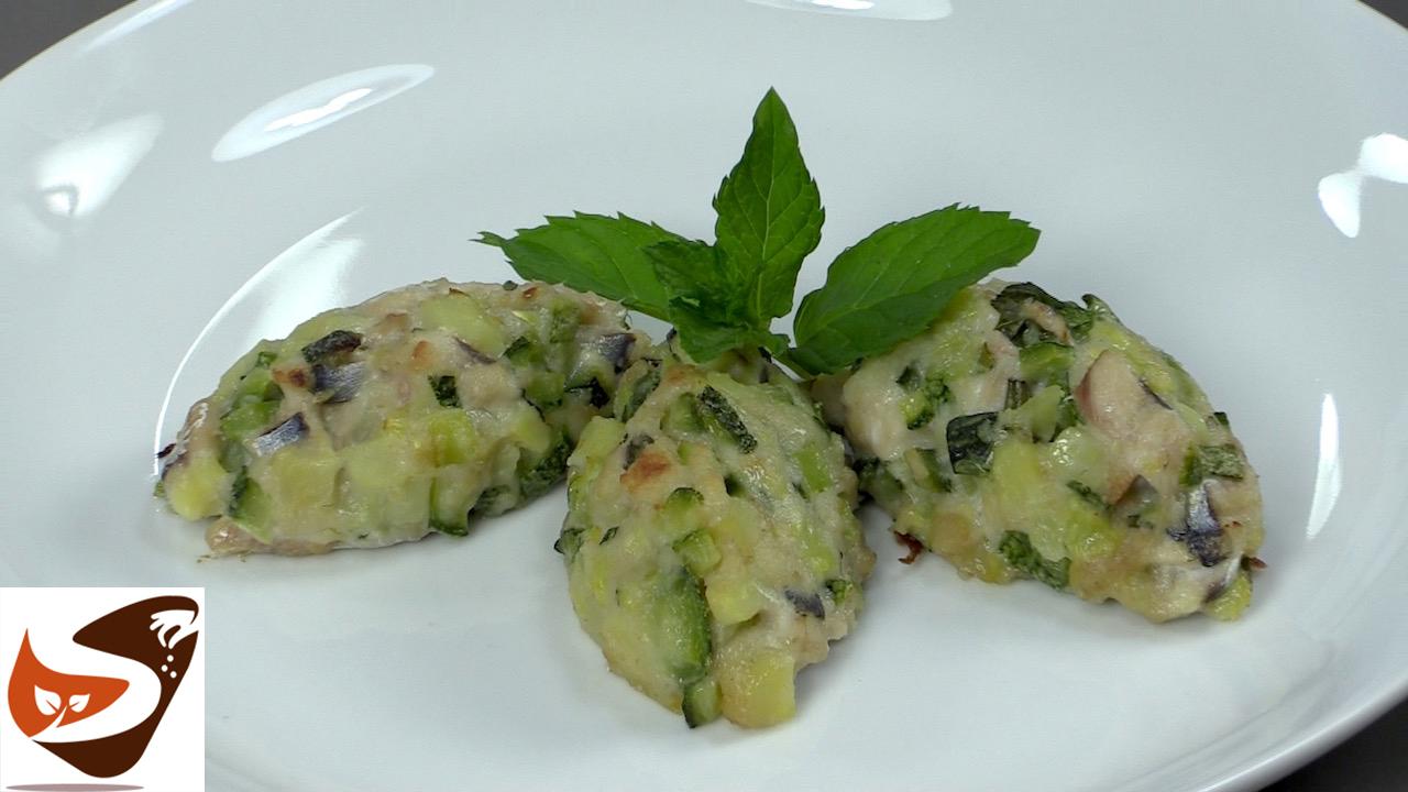 Polpette di zucchine al forno, senza uova – Antipasti facili e sfiziosi