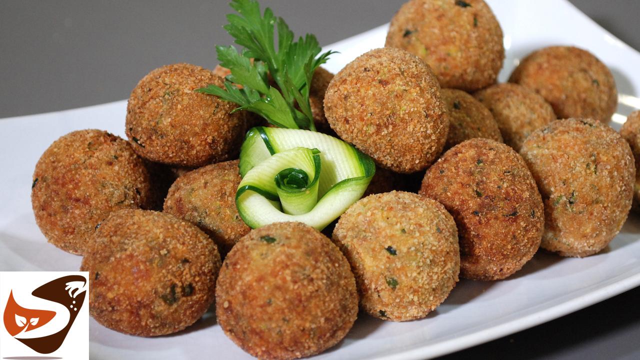 Polpette di zucchine fritte – Facilissime e buonissime – Antipasti veloci